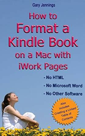 jaki format ebook na kindle how to format a kindle book on a mac with iwork pages