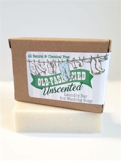 Country Soap Co by Fashioned Laundry Bar Unscented 4oz Amish