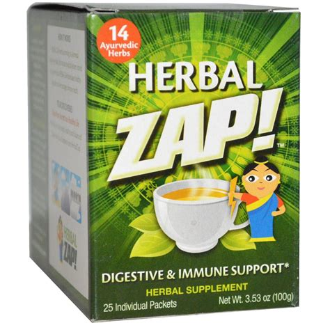 Herbal Zap Detox by Herbal Zap Herbal Zap Immune Support 10 Pkt