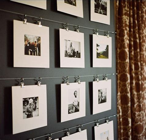 Ideas For Displaying Photos On Wall | 50 cool ideas to display family photos on your walls