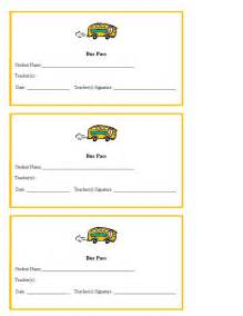 printable school template pass template for teachers printables