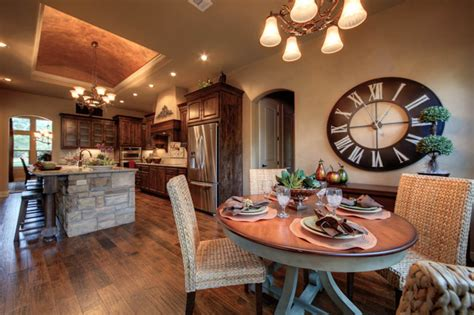 How To Build Dining Room Table model home 132 vista lane georgetown tx