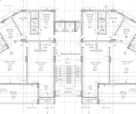 working drawing floor plan ah residential building working drawing typical