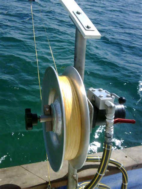 fishing vessel deck equipment bottom fishing reels blue ocean tackle blue ocean tackle