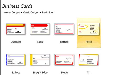 business card templates for publisher two sided business cards in publisher 2007 best business