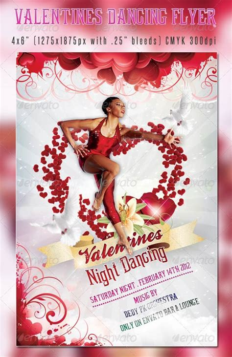 free valentines day flyer templates 20 flyer free psd images free psd flyer templates
