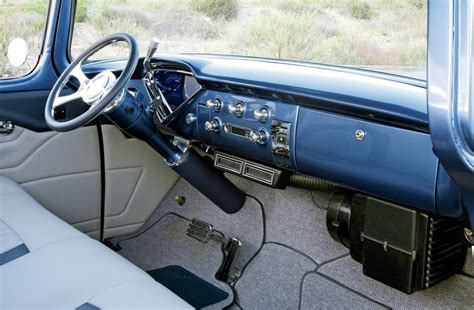 Chevy Cer Interior by 1955 Chevy Truck Sweet Rod Network