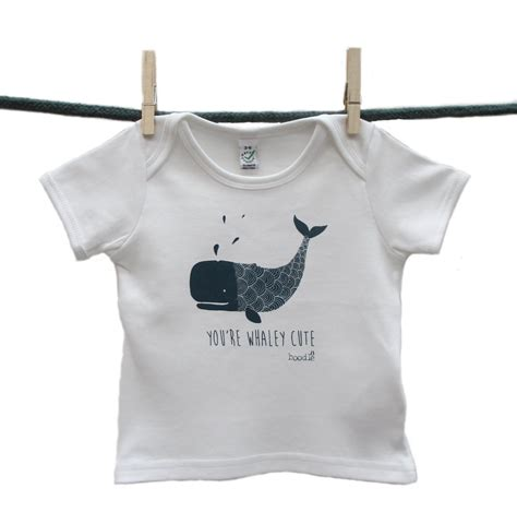 T Shirts Baby you re whaley organic baby t shirt wildlife trust shop