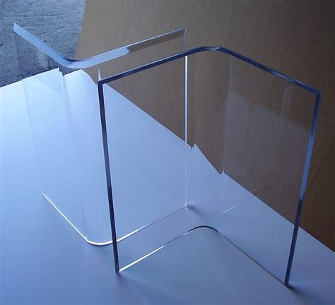 acrylic dining table base acrylic quot v s quot or boomerang dining table bases 2 clear