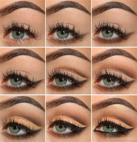 eyeshadow tutorial cut crease mellow brown cut crease eye makeup tutorial cut crease