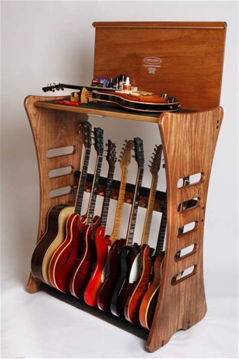 Guitar Storage Cabinet How To Build A Guitar Display Cabinet Woodworking Projects Plans