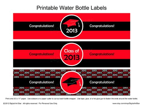 graduation labels template free digital printable decor printable