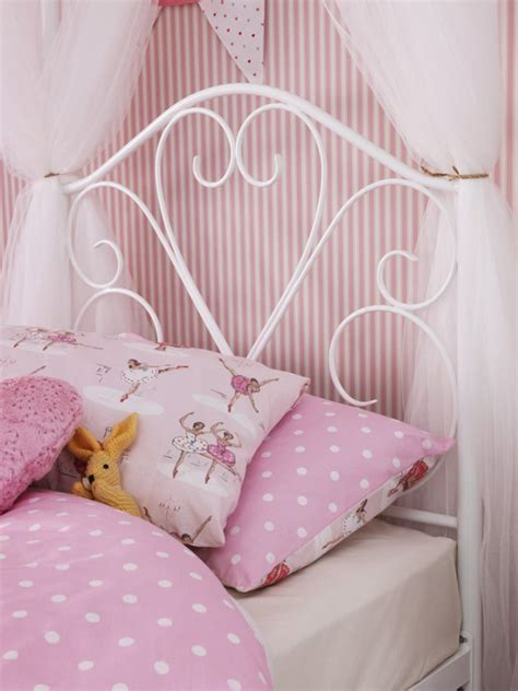 four poster single bed frame metal beds serene isabelle four poster metal bed frame