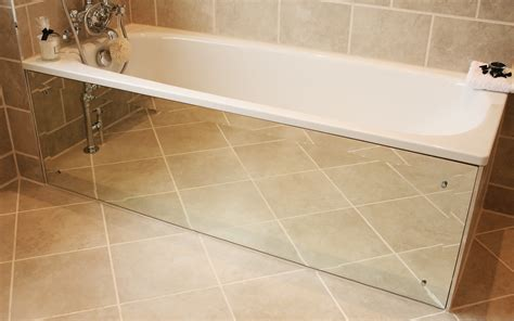 making a bathtub how to create a mirrored bath panel moregeous