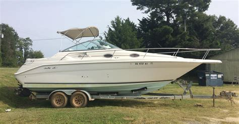 boats for sale burgess va 1998 sea ray 270 sundancer power boat for sale www