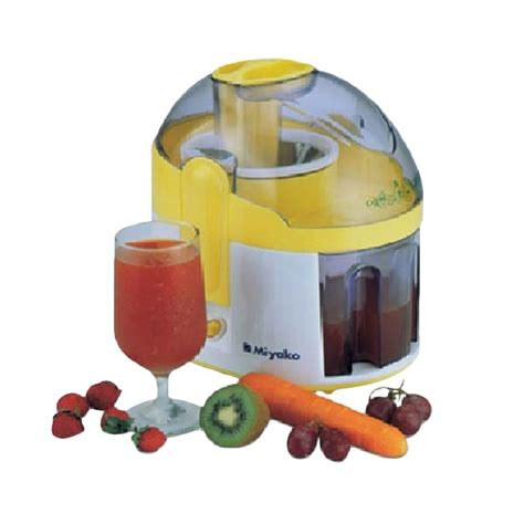 Diskon Miyako Juicer Je 507 jual miyako je 507 juicer harga kualitas terjamin blibli