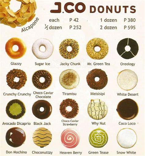 Menu Dan Jco Coffee j co donuts menu www pixshark images galleries