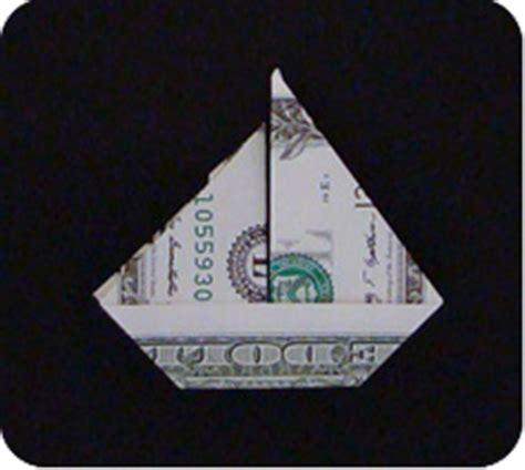 Dollar Bill Origami Boat - money sailboat make origami