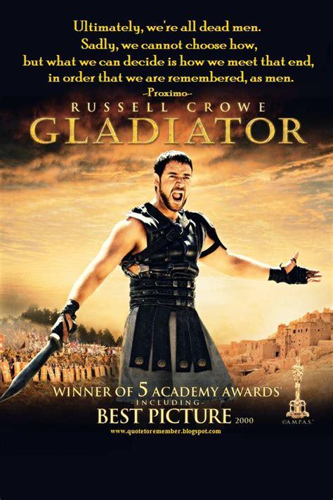 gladiator film lines the gladiator life chose me quotes quotesgram
