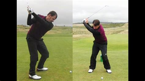 nick faldo golf swing nick faldo golf swing mid iron long iron down the