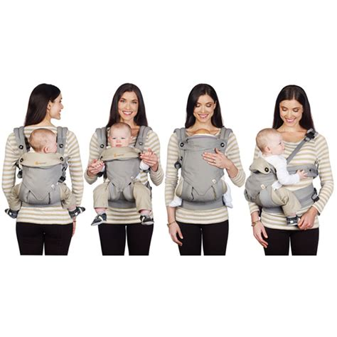 Ergo Baby Baby Carrier ergobaby 4 position 360 baby carrier grey huggle baby