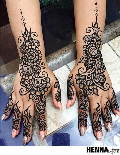 amazing black ink henna tattoo on left hand the 25 best mehndi designs ideas on pinterest designs