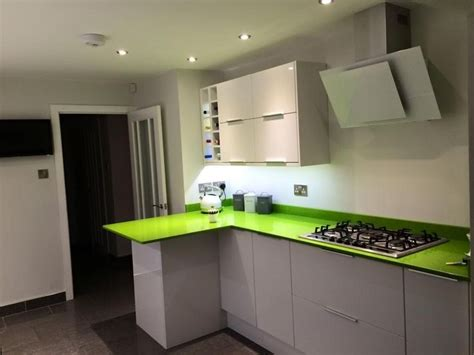green worktops for kitchens 174 best images about worktop on black granite