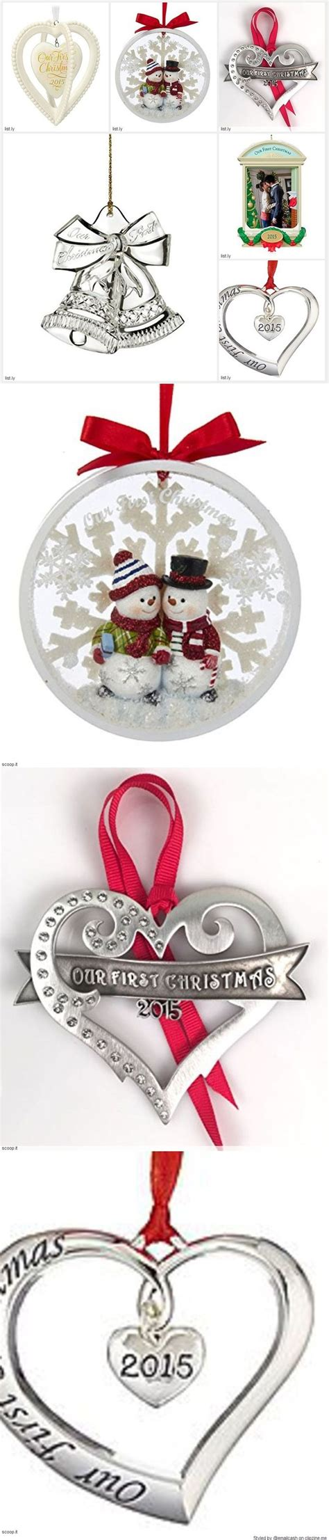 best 25 first christmas together ornament ideas on