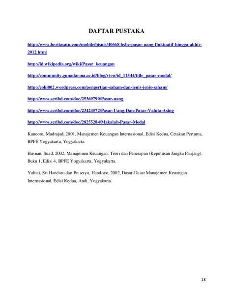 Ekonomi Uang Perbankan Pasar Keuangan Buku 2 Edisi 8 pasar uang pasar modal