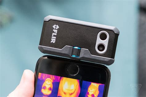 thermal smartphone flir s new smartphone thermal cameras the detail