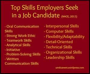 highlight your skills peer into your career 7 skills that every employer looks for job search infographics