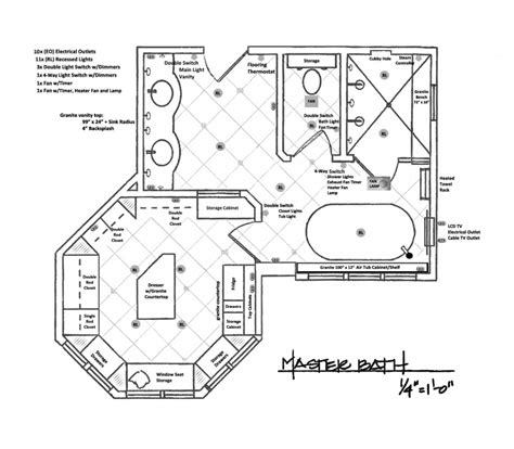 bathroom drawings master bedroom and bathroom floor plans this for all
