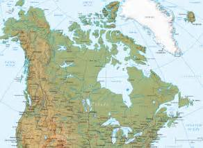 physical map of canada my