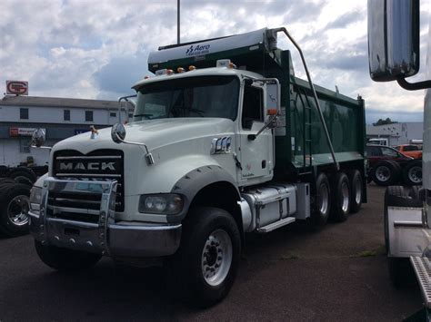 mack dump truck mack dump trucks for sale in pa