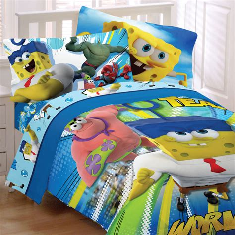 Spongebob Bed Set Viacom Ltd Spongebob Squarepants Bedding Set Mr