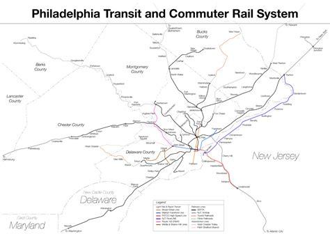 philadelphia subway map subway philadelphia metro map united states