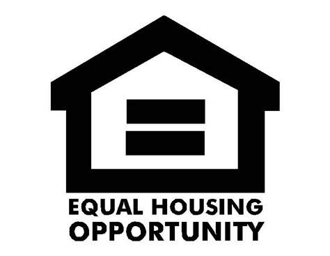 equal housing equal housing logo