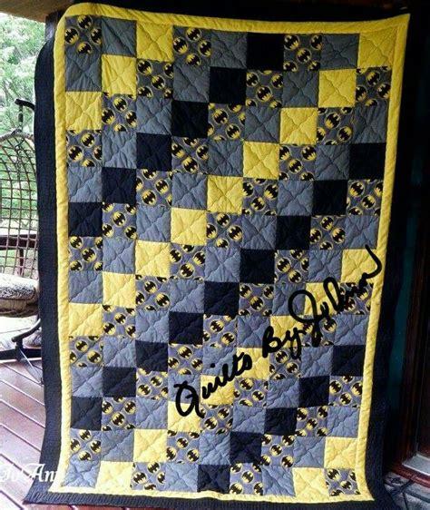 Batman Quilts by Best 25 Batman Quilt Ideas On