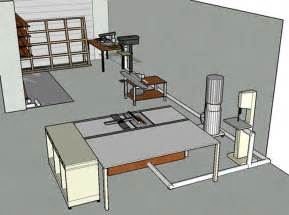 layout design compact small woodworking shop layout plans shoplayoutrenderingsmalljpg small