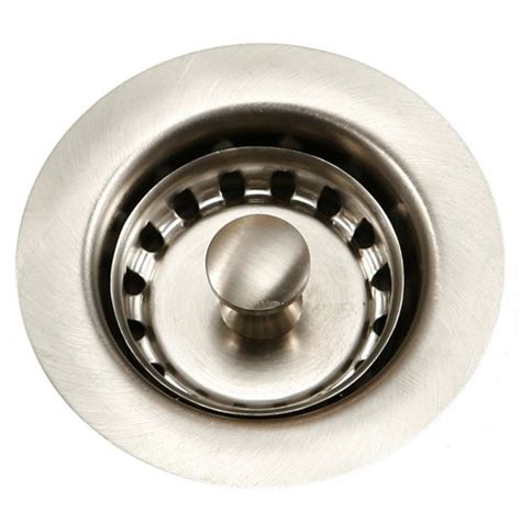 2 inch bar sink drain houzer 190 4200 bar sink basket strainer for 2 inch drain