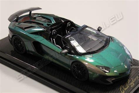 mr collection 2015 lamborghini lamborghini aventador lp750 4 roadster sv chameleon silver red matt