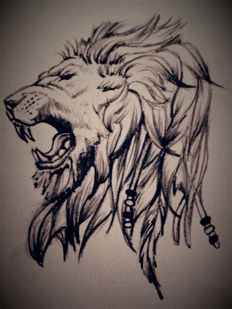 lion tattoo sketch can you tell i ve been obsessed with lions lately haha