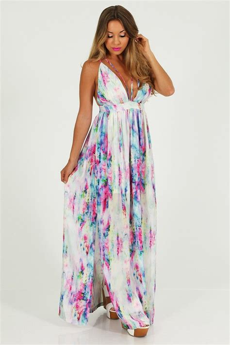 multi color maxi dress splash of color maxi dress multi shophopes s