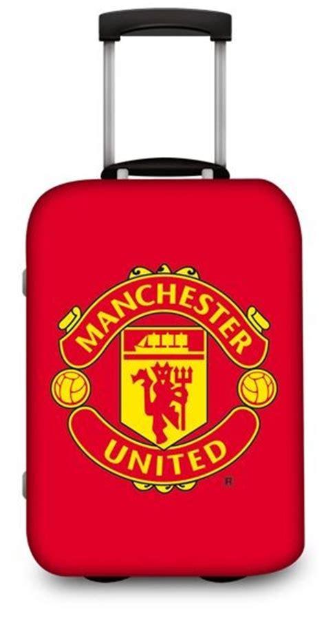 united luggage manchester united 20 quot suitcase luggage trolley bag ebay