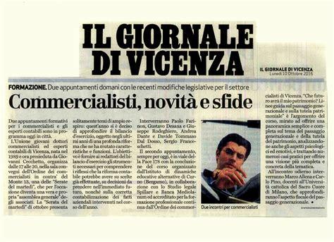 Vicenza Isi 4 isi ciclo di incontri formativi per i commercialisti