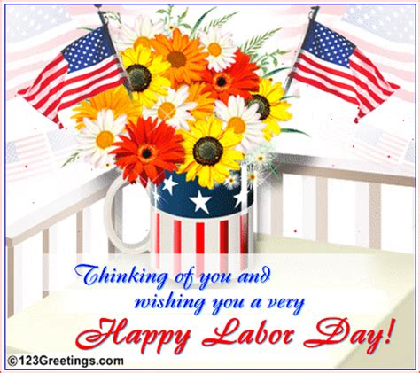 labor day greeting cards templates thinking of you on labor day free happy labor day
