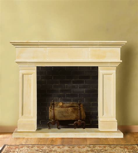 homeofficedecoration cast stone fireplace mantels