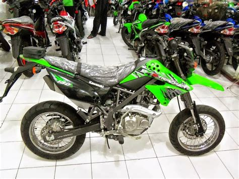 Klx 2014 Dtracker 150cc by Modifikasi Motor Klx 150 Trail Thecitycyclist