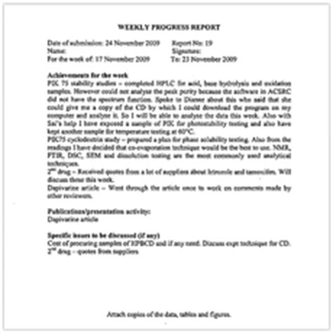 Script Supervisor Daily Progress Report Template Teaching And Learning Hub Weekly Progress Report