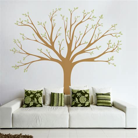 trees wall stickers wall tree decals tree wall decal ebay with large photo